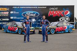Ford Performance Racing livery onthulling met Mark Winterbottom en Will Davison