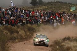 Daniel Oliveira and Carlos Magalhaes, Ford Fiesta WRC