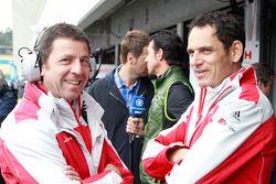 Albert Deuring und Hans-Jürgen Abt, Team Abt Sportsline