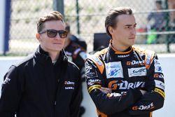 Roman Rusinov e Mike Conway