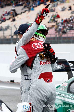 Timo Scheider, Audi Sport Team Abt Audi RS 5 DTM et Mattias Ekström, Audi Sport Team Abt Sportsline, Audi RS 5 DTM