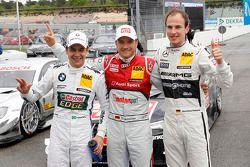 Augusto Farfus, BMW Team RBM BMW M3 DTM, Timo Scheider, Audi Sport Team Abt Audi RS 5 DTM et Christi