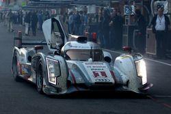 #1 Audi Sport Team Joest Audi R18 e-tron quattro Hybrid: Andre Lotterer, Benoit Tréluyer, Marcel Fäs