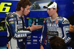 Valentino Rossi and Jorge Lorenzo, Yamaha Factory Team