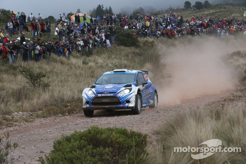 Abdulaziz Al Kuwari en Killian Duffy, Ford Fiesta