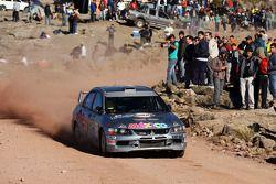 Ricardo Trivino and Alex Haro, Mitsubishi Evo X