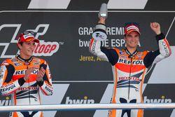 Дани Педроса. ГП Испании, воскресенье, после гонки.