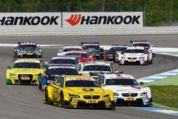 Timo Glock, BMW Team MTEK BMW M3 DTM et Martin Tomczyk, BMW Team RMG BMW M3 DTM