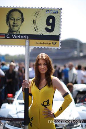 Chica de la Parrila para Christian Vietoris Mercedes AMG DTM-Team HWA DTM Mercedes AMG C-Coupé