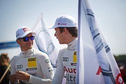 Timo Scheider Audi Sport Team ABT Sportsline Audi A5 DTM e Adrien Tambay Audi Sport Team Abt Audi A5