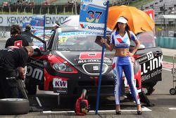 René Münnich, SEAT Leon WTCC, Münnich Motorsport e Grid Girl