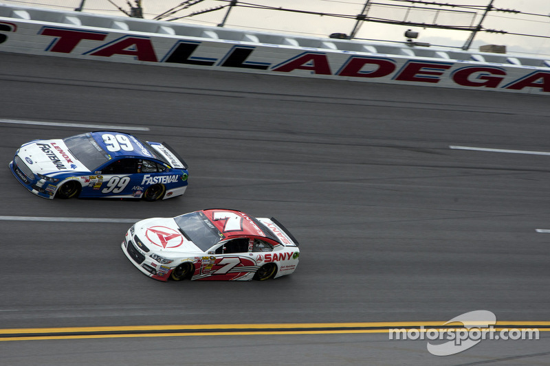Carl Edwards en Dave Blaney