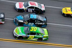 David Stremme, Michael McDowell and Dale Earnhardt Jr.