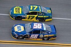 Martin Truex Jr. and Ricky Stenhouse Jr.