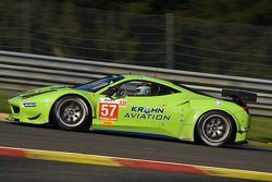 #57 Krohn Racing Ferrari F458 Italia: Tracy Krohn, Nic Jonsson, Maurizio Mediani