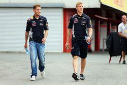 Sebastian Vettel, Red Bull Racing et son préparateur physique Heikki Huovinen