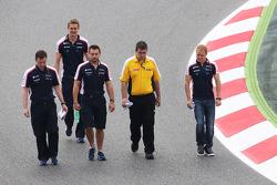 Valtteri Bottas, Williams, pist yürüyüşü