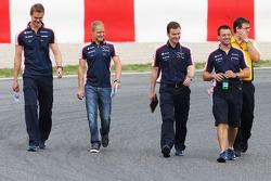 Valtteri Bottas, Williams pist yürüyüşü