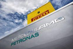 Mercedes AMG F1 et Pirelli