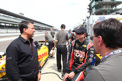 Kurt Busch en Michael Andretti