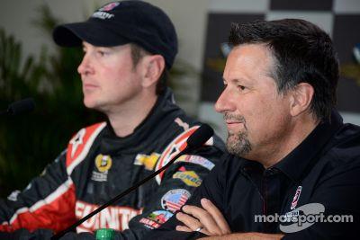 Kurt Busch testa na IndyCar