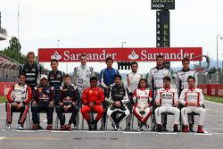2013 drivers group photograph