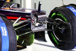 Pintura Flow-vis en el Red Bull Racing de Sebastian Vettel, del Equipo Red Bull Racing