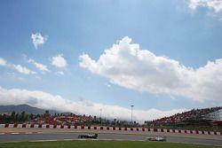 Valtteri Bottas, Williams devance Nico Rosberg, Mercedes AMG F1