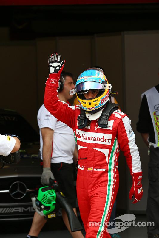Fernando Alonso, Ferrari na onda dos fãs