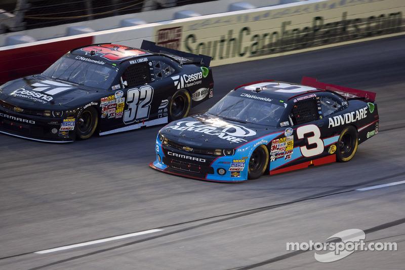 Austin Dillon en Kyle Larson