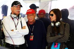 Dr. Dieter Zetsche, CEO de Daimler AG y Niki Lauda, Presidente No Ejecutivo de Mercedes