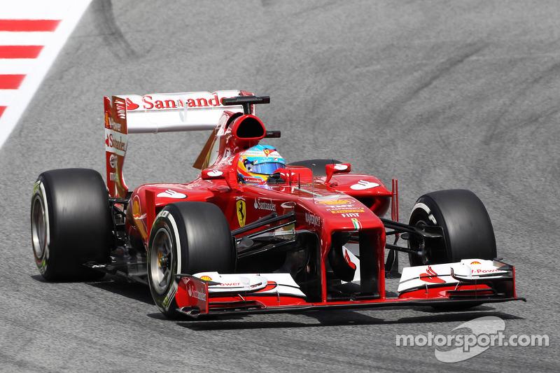 2013 Fernando Alonso, Ferrari F138