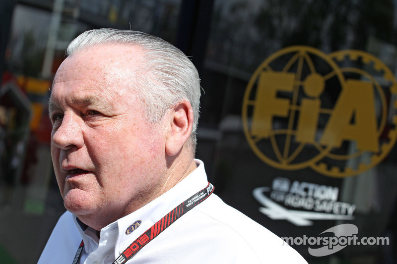 Alan Jones, FIA Steward