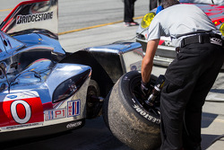 Tire change for the Deltawing