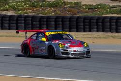 #45 Flying Lizard Motorsports Porsche 911 GT3 RSR: Nelson Canache Jr., Spencer Pumpelly