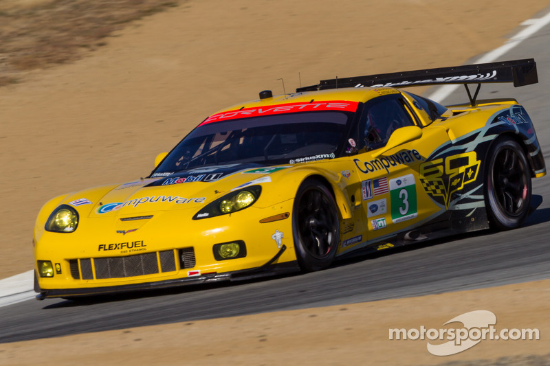 3 Corvette Racing Chevrolet Corvette C6 Zr1 Jan Magnussen Antonio