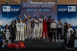 Vencedores de Classe - P1: Lucas Luhr e Klaus Graf; P2: Marino Franchitti e Scott Tucker; PC: Luis D