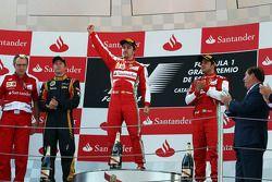 Fernando Alonso, Ferrari et Felipe Massa, Ferrari