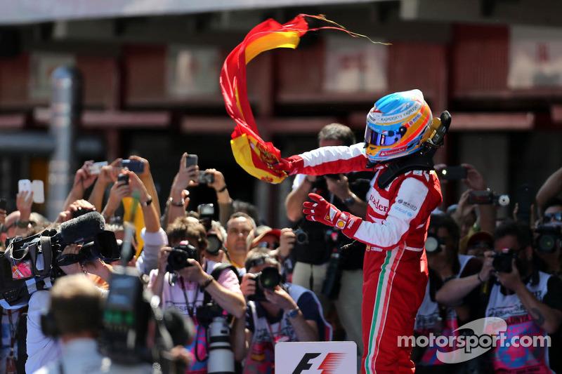 Barcelone 2013, dernier succès en date en F1, chez lui...