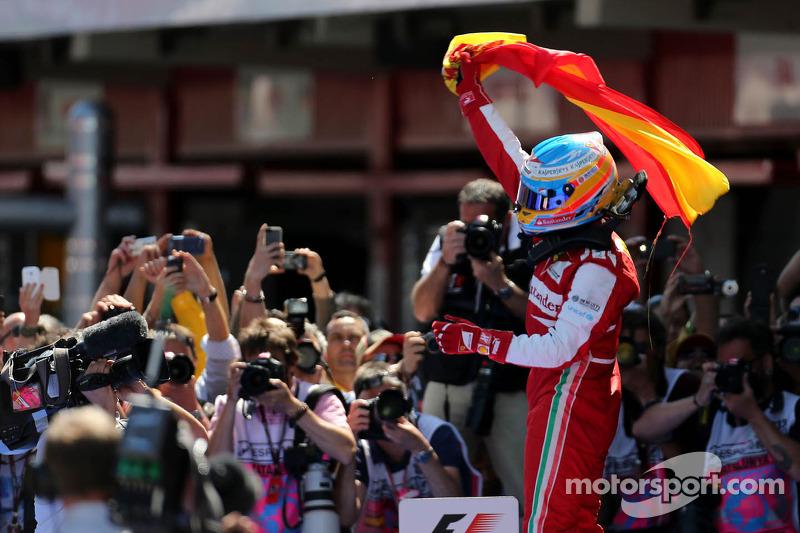 Fernando Alonso - 11 victorias con Ferrari