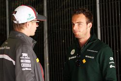 (L to R): Nico Hulkenberg, Sauber with Giedo van der Garde, Caterham F1 Team