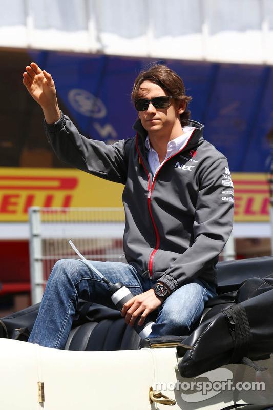 Esteban Gutierrez, Sauber no desfile de pilotos