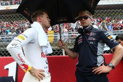 Sebastian Vettel, Red Bull Racing, avec son préparateur physique Heikki Huovinen