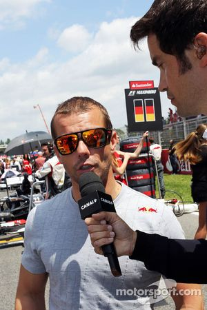 Sébastien Loeb, Porsche AG et Thomas Senecal, Canal+