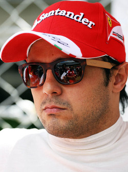 Felipe Massa, Ferrar, no grid