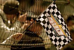 Una bandera de Indy 500