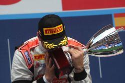 Race winner Stefano Coletti