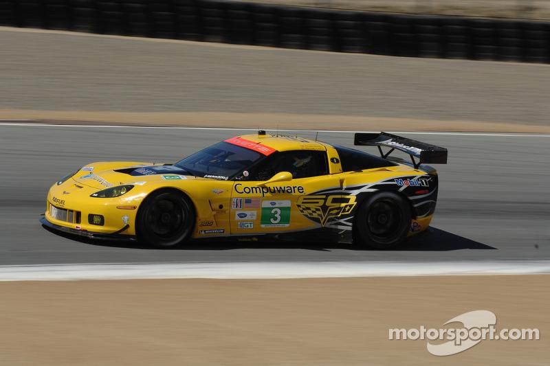 3 Corvette Racing Chevrolet Corvette C6 ZR1: Jan Magnussen