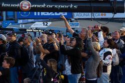Post corrida celebration