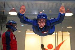 Tony DAlberto flies no iFly Center